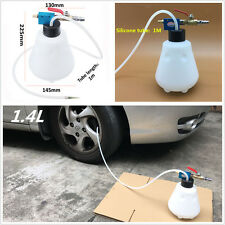 Portable 1.4L Auto Brake Filling Bleeder Bleeding Bottle Pumping Emptying Tools