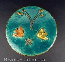Emaille Keramik Dose Bunge Schibensky Ruckenbrod Era 50er 60er Jahre enamel box