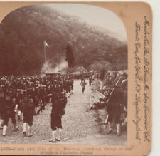 Imperial Army Group of Mikado's Fighters Japan Keystone Stereoview 1904