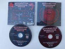 CD ALBUM quicksilver MESSENGER SERVICE Live 1977 BEARVP114CD