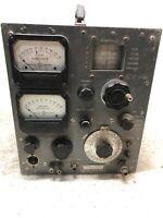HP Hewlett Packard 608A Signal Generator Vintage Light Wear RARE COOL ARMY PROP