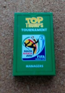Top Trumps - World Cup Tournament 2010 Managers (Pack Still Sealed)
