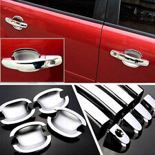 Chrome Door Handle Bowl Cover Cup Overlay Trim For Ford Focus 2012 Hb8jdg