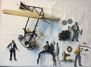 Vintage wild Wild West Artemis Dr Loveless James Action Figure Lot X Toys 1999