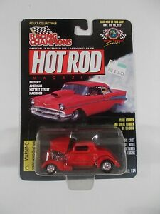 Racing Champions 1/64 Hot Rod Magazine '34 Ford Coupe