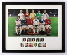 ROYAL MAIL Framed FOOTBALL stamps from 2013
