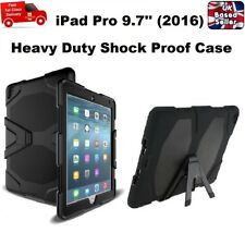 Tough Military Hard Rugged Silicone Rubber Case for iPad PRO 9.7 inches (2016)