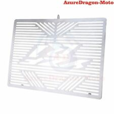 Silver Radiator Grille Guard Grill Cover Shield Fit YAMAHA YZF R1 2012 2013 2014