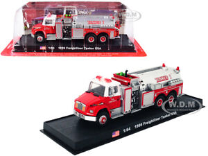 "1999 FREIGHTLINER TANKER FIRE ENGINE ""VOLUNTEER FIRE DEPT."" 1/64 AMERCOM ACGB21"