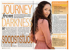 Lexie Stevenson (Mattie Ashby, Young & the Restless) 4 Page Soap Opera Interview