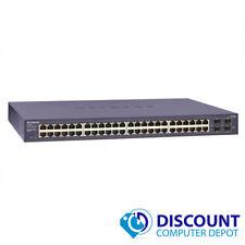 Netgear Prosafe GS748T v3 10/100/1000 48-Port Gigabit Switch TESTED & WIPED