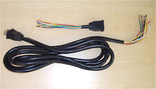 2 units - 9 conductor cable with quick disconnect - hydrolic car - 12 ft - ul