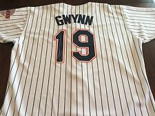 San Diego Padres Tony Gwynn Game Worn Used & Signed Baseball Jersey ~ Gwynn LOA