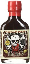 Grinders Death Nectar - Extremely Hot - Ghost Pepper Hot Sauce 3.5 oz FREE SHIP