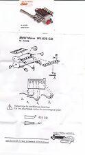BMW M1 / 635  Motor  1:43 Kit / Bausatz   High Tech Modell