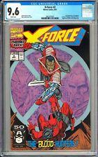 X-Force #2 CGC 9.6 WP 1991 3802375001 1st Weapon X, 2nd App. Deadpool!