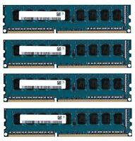 4x 8GB 32GB RAM DDR3 1333 Mhz PC3-10600 PC-Speicher 240pin DIMM Hynix 3rd
