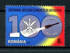 Romania 2016 MNH Anti Aircraft Artillery & Surface to Air Missiles 1v Set Stamps