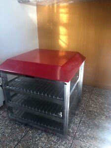 "Pizza & Snack Heated Merchandiser 19"" Shelves Fusion 513"
