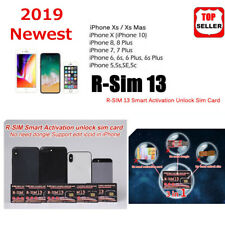 PRO RSIM 13 2019 R-SIM SUP Nano Unlock Card FOR iPhone XS/8/7/6/6S 4G IOS 11 12