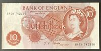 Bank of England. Ten Shillings. B310. J.S. Fforde. B45N 742350. UNC. (BN64)