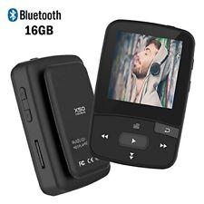 Bluetooth MP3 Player 16GB with FM Radio Voice Record Mini Size Micro SD Card
