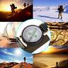 Emergency Tool Military Portable Survival Magnifier Lensatic Lens Compass travel