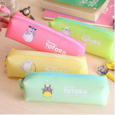 Pink Students' Gift Totoro Pencil Case Studio Ghibli Pen Holder Anime Cartoon
