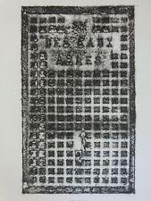PIERRE ALECHINSKY (°1927) / MOBILIER URBAIN ARLES / ZW-W ETS / 75x63cm / 1987