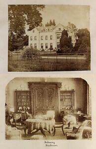 c1890 Huntsmore Park country estate in Iver 7 rare photographs before demolition