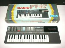 Casio PT-87 32-Keys Electronic Musical Keyboard with Casio Rom Pack World Songs