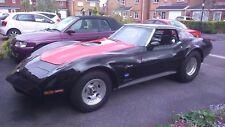 Classic Chevy Corvette C3 pro street drag race car 383 small block