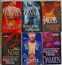 # 1 - 6 JACQUELYN FRANK PARANORMAL ROMANCE BOOKS NO DOUBLES FREE SHIPPING