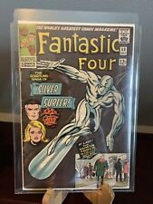 Fantastic Four 50 Silver Surfer Key Issue CLEANED AND PRESSED READY CGC READY