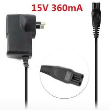15v 360mA Shaver Power Supply Plug Charger For Philips Wet Dry Universal