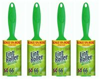 4 Pack Lint Roller For Laundry Clothes Fuzz Pet Hair Garment 264 Sheets