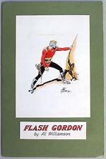 FLASH GORDON Painting by EC Artist Al Williamson, 1960s Comic Art