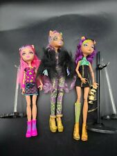 Monster High doll Howleen Wolf Creepateria Ghouls Rule Clawdeen Lot 3