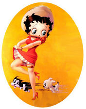 Betty Boop  Iron On Transfer