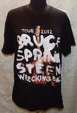 Bruce Springsteen Tour 2012 Wrecking Ball Concert T-shirt L Large Music