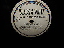 New listing Royal Gardens Blues / At The Jazz Band Ball Black & White Records 78 Rpm Wlp