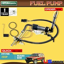 Electric Fuel Pump Assembly with Sender for Jeep Cherokee 2.5L 1991-1993 4.0L