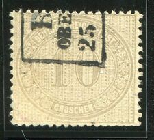 Germany 1872, Deutsches Reich, 10gr Gray, Scott# 12 (Used)
