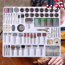 216pcs Mini Rotary Tool Accessories Bit Set Electric Grind Polishing For Dremel
