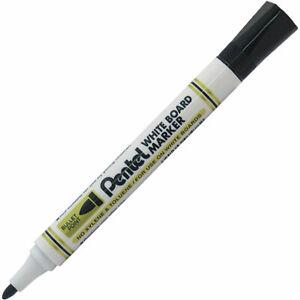 Pentel MW85-A Whiteboard Marker - Bullet Tip Black