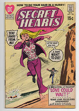 DC COMICS  SECRET HEARTS  150  1971  MOD ROMANCE