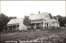 Portage Lake ME Camp Iberson 1950s-60s Real Photo Postcard