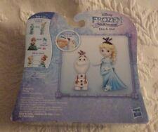 Disney Frozen Little Kingdom Elsa & Olaf Figurines New Nib