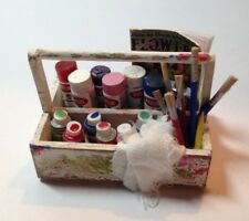 Dollhouse Miniature Artist Tote with Paints Kit - 1:12 Scale