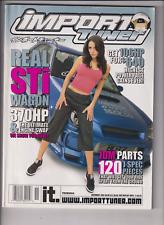 Import Tuner Mag Real STi Wagon & JDM Parts November 2003 121719nonr